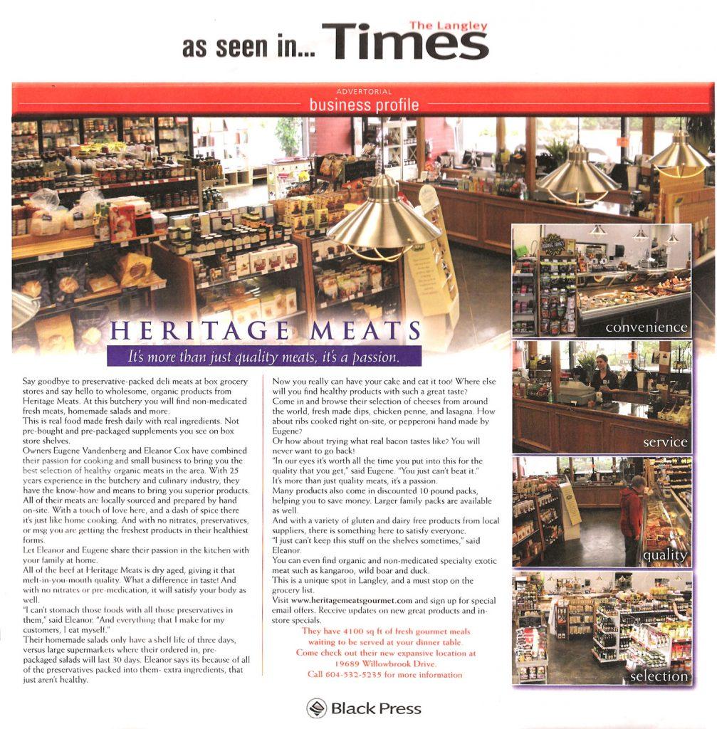 Langley Times 2011