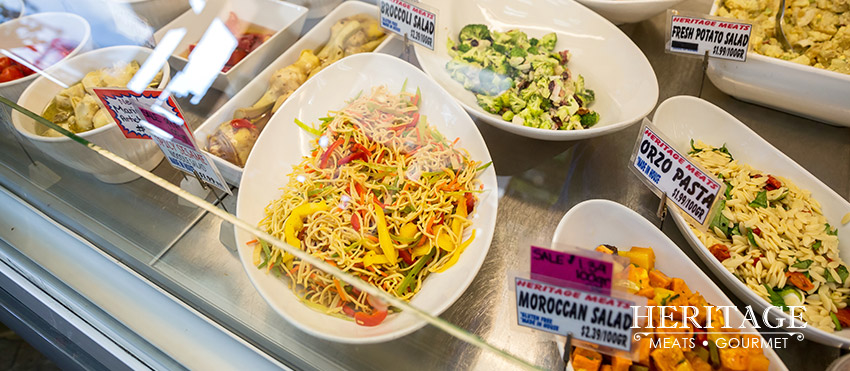 Fresh Salads From The Deli