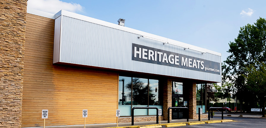 Heritage Meats Gourmet Langley Store Front
